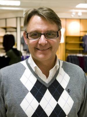 CHEF. Stefan Palmqvist, Sverigechef och ny ägare av DM Mode i Sandviken och Falun.