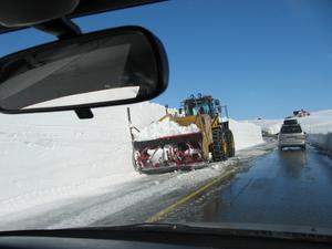 Vintern närmar sig och med den snö och ibland oplogade vägar. Då är det bäst att stanna hemma tills plogbilen kommit.