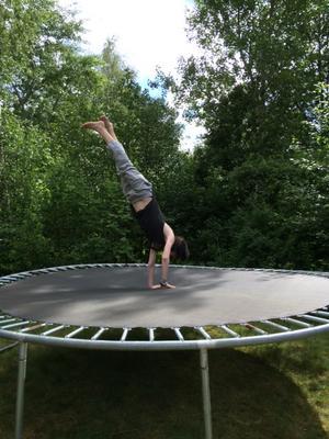 Henrik! Snart elitgymnast! Foto: Lisa Magnor-Nygren.
