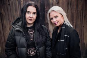 Josefine Augustinson och Josefine Eriksson driver tillsammans UF-företaget Mig äger ingen.