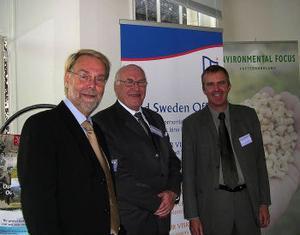 Christer Nylén, Christer Nilsson och Peter Blomqvist är några av länets utsända i Bryssel. Christer Nilsson öppnade gårdagens seminarium som styrelseledamot