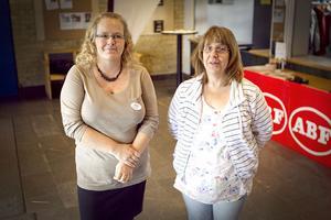 Pia Sundberg och Brittmari Engman från ABF Hälsingekusten.