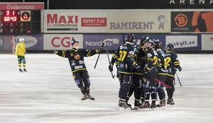 Falun jublar efter ännu en seger över Ljusdal.