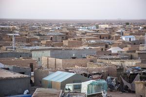 Flyktingläger i Västsahara. Foto: Anette Grinde