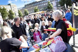 Arkivbild: Stortorget i Gävle.