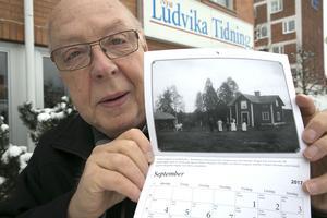Den 11 november kom Elov Danielsson till DT:s Ludvikaredaktion och visade upp kulturföreningens almanacka för 2017. Då vågade han inte drömma om att han en månad senare skulle tilldelas Björkmanska kulturpriset – en födelsedagspresent och julklapp som i både ära och pengar slår det mesta.