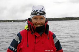 Arrangör. Carina Pettersson är distriktsordförande för länsförbundet, och med och arrangerar lägret vid Husabergs udde.