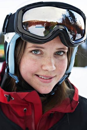 Emma Lindén ,  19 år från Mälarhöjden:– Kul att se alla andra och att bli inspirerad. Bra att kunna ställa frågor och få tips. Jag klarade en 360 till slut och nu ska jag sätta en igen.