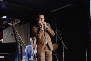 Sensationellt skicklige Filip Jers vävde samman jazz med folkmusik.
