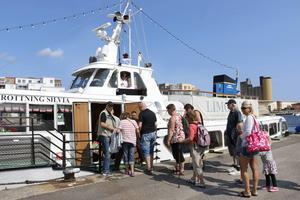 Limöbåten drar in de dagliga turerna efter 2 augusti. Då blir det bara helgtrafik.