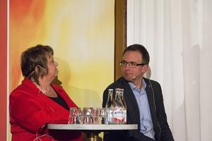 Ann-Sofie Andersson, kommunalråd i Östersund, var inte för idén om en norrländsk storregion medan  Peder Björk, Sundsvall, såg det som ett måste för att komma till rätta med bland annat sjukvården.