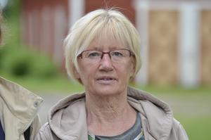 Ulla Sundström, Umeå och sommarjobbar i Nora.- Det är första gången vi är här på Stadra. Det är fantastiskt fint. Jag fick se att det skulle vara och då frågade jag Katrin om vi skulle gå på den...