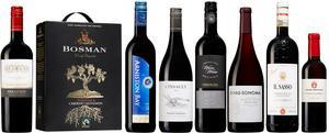 Ett 20-tal nya rödviner finns från 1 juni i bolagets fasta sortiment. Här är de sju som ger mest smakvaluta för satsade pengar – och ett fantastiskt starkvin.