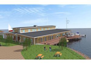 Fasaden in mot land måste upplevas som en framsida tycker byggnadskontoret.