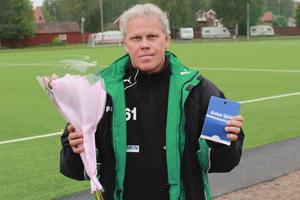 Vinnaren Mats Gunnarsson.