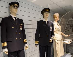 För strikt klädpolicy? På SAS-museet i Oslo kan man få se plagg från förr.