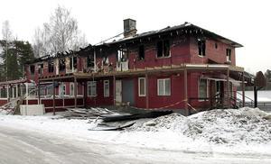 Restaurangen Venezia med nattklubben Rex på övervåningen brann ner efter ett attentat december 2000. Utestället låg där Lidl ligger idag. Foto: Mats Olsson.