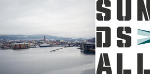 Den nya logotypen lever inte upp till önskemålet att vara tydlig, skriver signaturen MN. Bilder: Pontus Hellsén och Sundsvalls kommun