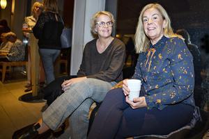 Annelie Sjöberg från Ockelbo och Lotta Lindblom från Gävle tog tillfället i akt att göra något roligt ihop.