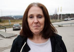Annemari Åström, 63, sjukpensionär, Liden