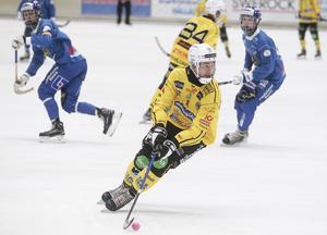 Adam Wijk var tillbaka i spel efter sjukfrånvaron borta mot Västerås – och gjorde ett stiligt solomål som gav reducering till 1–2.