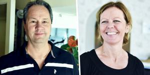 Håkan och Carola Carlsson, med betoning på Carola, driver numera Strandvillan i Orsa.