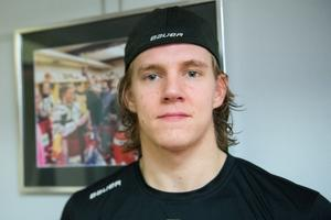 Marcus Hardegård, 21 år, back i Timrå IK.