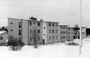 Bräcke växte och frodades på 1960-talet. Ett 30-tal lägenheter i Bräckehems hus
