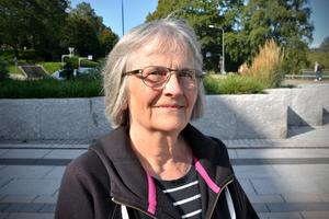 Ragna Eriksson, 72, pensionär, Sundsvall