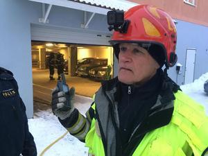 Räddningsledare, Lars Askrud.