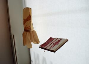 """Silvia Moscosos verk """"Allt mitt bär jag med mig""""."""