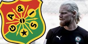 Mathias Karlsson är och provspelar med superettanlaget GAIS.
