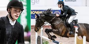 Ingemar Hammarström och Captain Sparrow 5 fixade guldet i junior-SM.