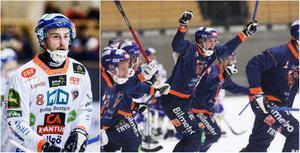 Anton Dahlberg gjorde säsongens första match i serien när Bollnäs slog Vänersborg på onsdagen.