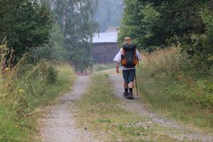 Michael Clark fortsätter sin vandring mot Nidaros i Trondheim.