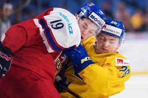 Erik Brännström var återigen Sveriges bäste back.Bild: Joel Marklund/Bildbyrån