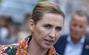 Mette Frederiksen är de danska Socialdemokraternas partiledare. Foto: Johan Nilsson/TT