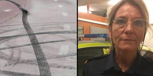 Många buskörare fick böter under helgens polisinsats i Sala, berättar polisbefälet Terese Heidenborg.