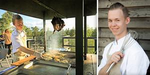 Nu flyttar kocken Jonathan Hammar tillbaka hem till Bollnäs efter flera år i Stockholm.