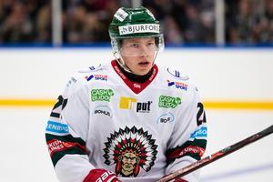 Karl Henriksson kommer att spela för SSK mot Timrå på onsdag kväll. Bild: Michael Erichsen, Bildbyrån.