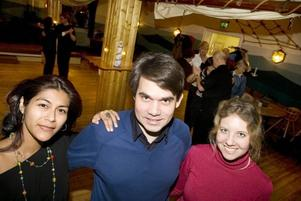 Får vi lov. Millie Leon, Pär Olsson och Åsa Lindgren är initiativtagarna till Gefle latindansfestival som drar igång i nästa vecka.