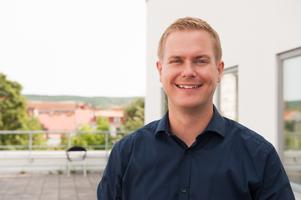 Gustav Fridolin besökte Ludvika för att prata med väljarna.
