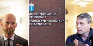 Åklagare Niklas Jeppsson och Daniel Kindberg.
