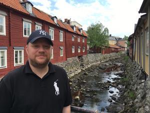Jimmie Andersson, ordförande i VIK:s supporterförening.