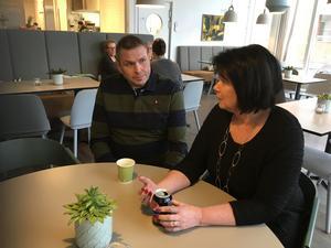 Christer Fröjdh är den första som nappat på Katarina Jonssons inbjudan till personligt möte.