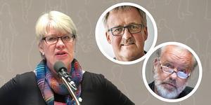Ann-Marie Johansson (S), Bengt Bergqvist (S) och Robert Uitto (S).