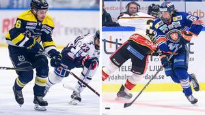 Erik Brännström och Dominik Bokk möts i J20-finalen. Foton: Bildbyrån