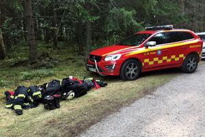 Larmet om drunkningsolyckan inkom till SOS Alarm vid klockan 16.41 på onsdagseftermiddagen.