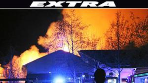 Två år har gått sedan den omfattande branden som förstörde Önstaskolans idrottshall. Nu krävs de fem ungdomar som dömdes för att ha anlagt branden på mångmiljonbelopp i skadestånd.