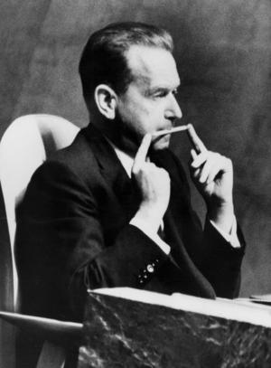 Dag Hammarskjöld. Foto: TT